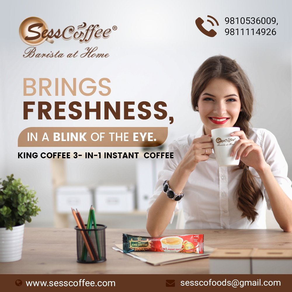 KING COFFEE, an instant provider of freshness, If you have not tried it yet, You are missing one of the best coffee in the world. try this out!  To know more, visit us at: https://tinyurl.com/ybtv67kp #coffee #tea #love #food #christmas #art #cafe #instagood #coffeetime #photography