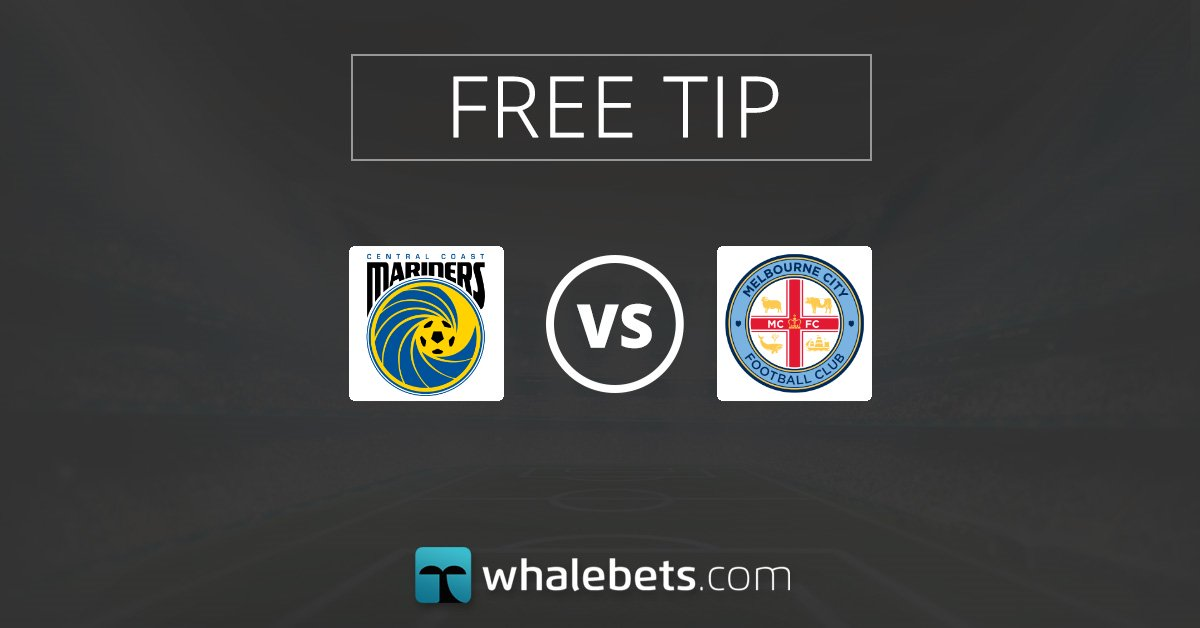 🆓#BetOfTheDay ⚽️Central Coast Mariners vs Melbourne City 🇦🇺Australia - A-League 📊Melbourne City To Win 📈Price : 1.66 #tips #bettingredictions #sport  #football #bettingtips #footballtips For 2 more #freetips here : 👇 http://whalebets.com/free-daily-tips/…