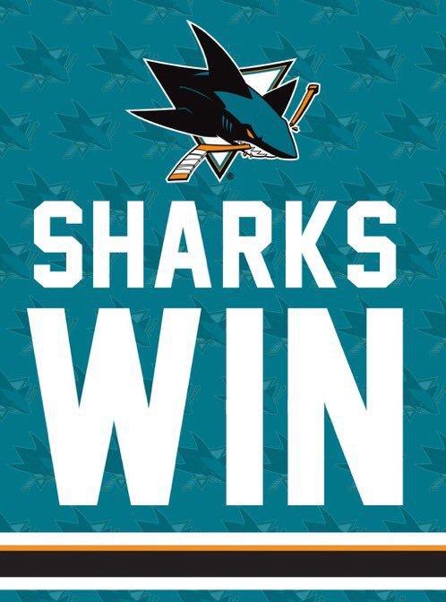 Wave that #SharkieWflag @sjsharkie @sanjosesharks win!  #sjsharks  #sharksforlife #NHL #hockeytwitter <br>http://pic.twitter.com/uOwTx7lDBY
