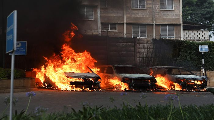 #Kenia 🇰🇪 | Aumenta a 15 la cifra de muertos por ataque a un hotel en Kenia >> https://t.co/6wMQJZV4Vs