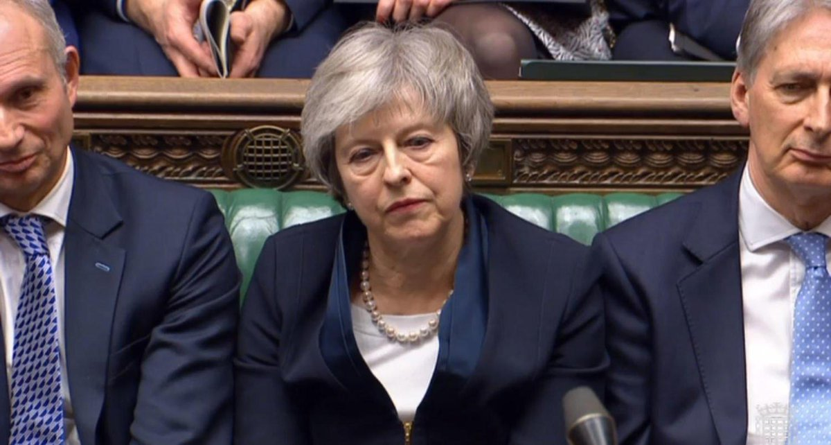 'Theresa May should have resigned after her crushing Brexit defeat – she has not served the national interest' https://t.co/vEeX4ya2yd