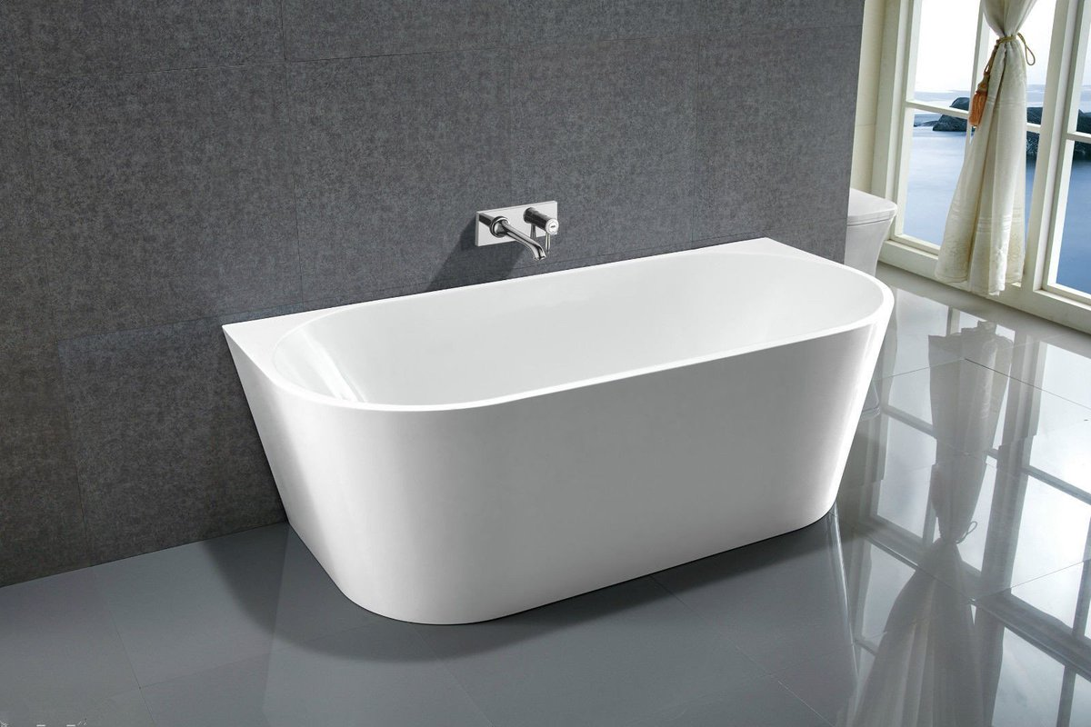 Simple #Acrylic #Bathtub,100% #Quality Acrylic with fiberglass reinforced, with -Brass pedal drainer https://bit.ly/2He0525Bathtub , #home #shower #villa  #apartement  #relax  #WayBackWednesday #WisdomWednesday  #decoration