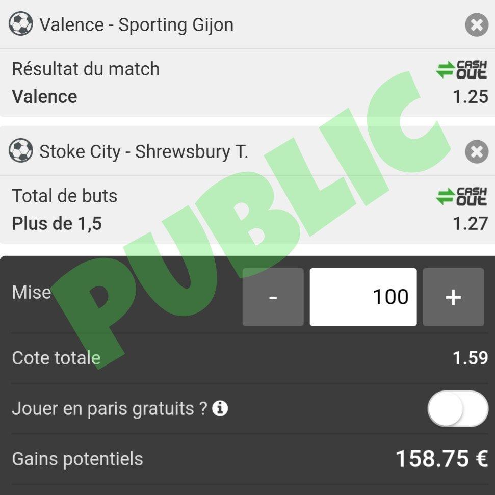 BOUMMM  2/2 hier comme prévu pour les pronostics gratuits 🎁🎁🎁  http://www.blizzakoprono.fr  #ligue1 #ligue1conforama #transfert #mercato #blizzakoprono #FDJ #teamparieurs #parionssport #parissportifs #parissportif #pronostic #ligue2