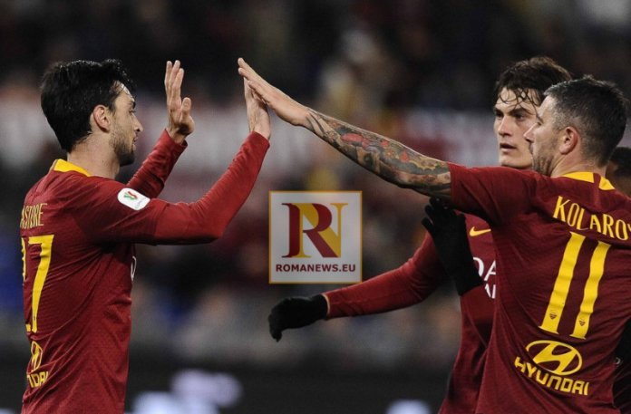 Roma, il tacco va di moda: 4 gol stagionali #ASRoma #Schick #Pastore #Pellegrini  https://romanews.eu/notizie-roma/roma-tacco-va-di-moda-4-gol-stagionali/…