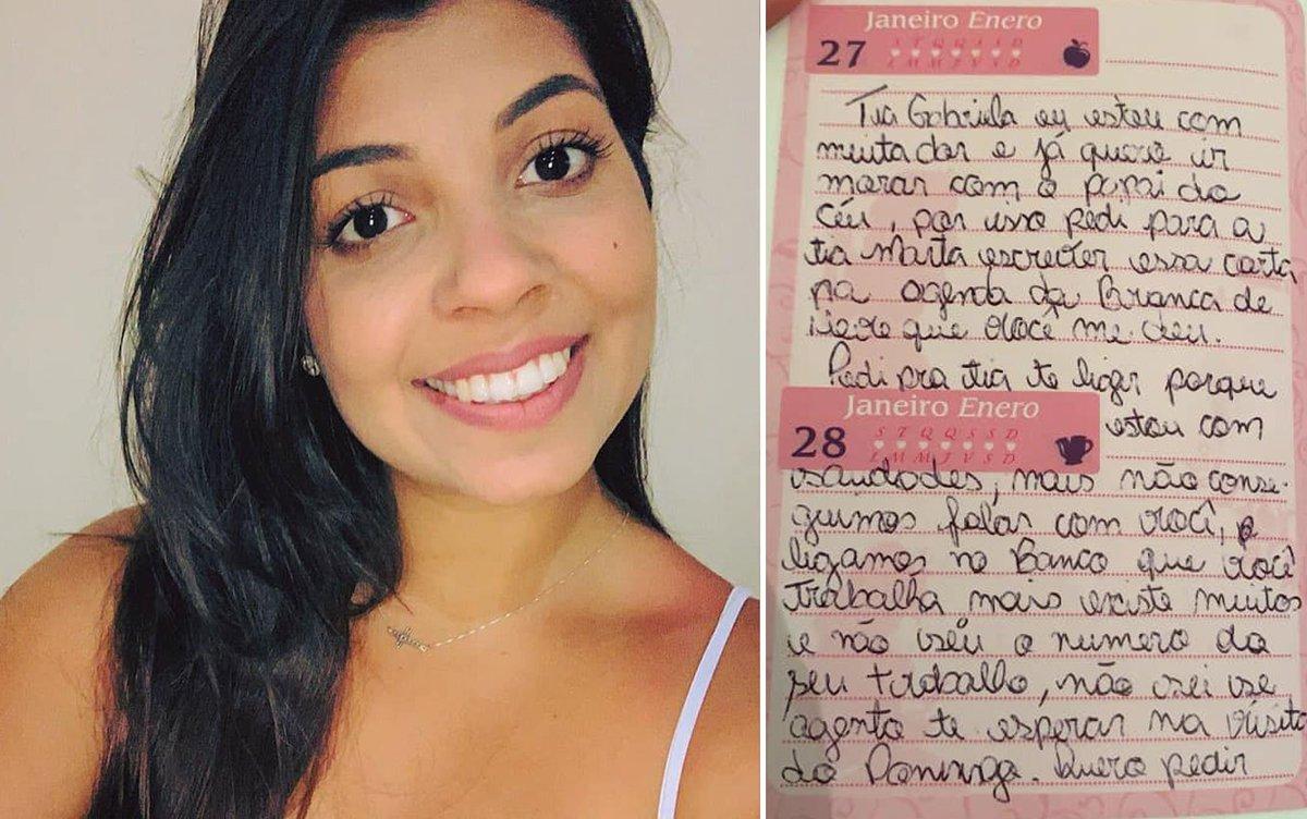 'Ela me ensinou a saber o que é ter um amor de mãe', diz voluntária que visitava menina com leucemia; garota escreveu carta de agradecimento pouco antes de morrer https://t.co/ZDGuDrtKCH #G1