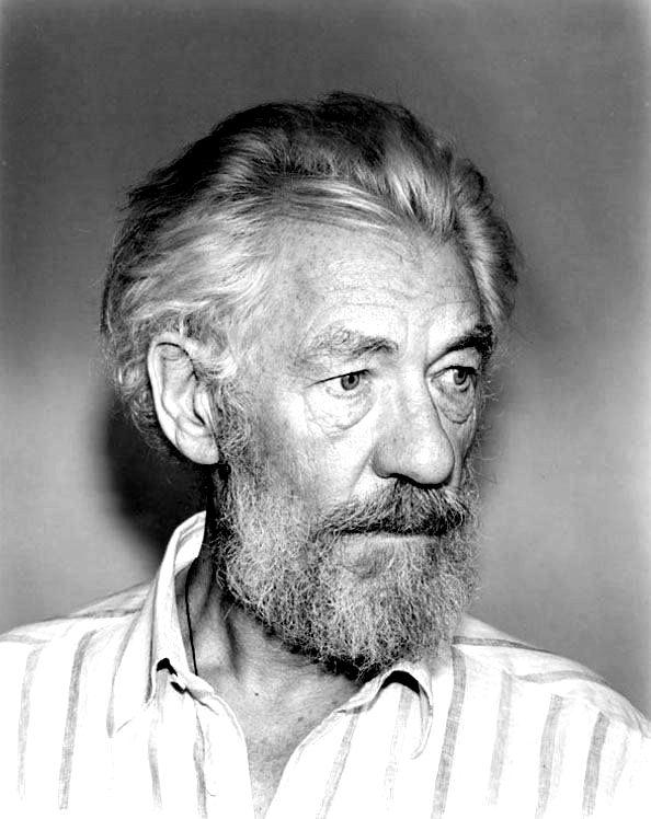 RT @LesRavageurs: Ravageurs have beards. | Ian McKellen by Steve Pyke https://t.co/3P7ytwFN3l