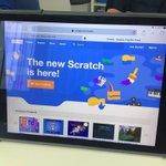 Image for the Tweet beginning: We got it! Scratch 3