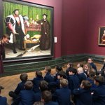 Our Year 5 children were lucky enough to enjoy a private tour and 'Portraiture' workshop at the @NationalGallery We were so proud of their impeccable manners, creative questioning and super focus over the day. #LongacreLife #prepschool #art #gallery @PrepSchoolMag @School_HouseM