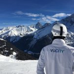 Not a view of a city @VUCITY_ but a beautiful view of Mont Blanc #Propski with GIA networking in Chamonix. #networking #businessdevelopment #property #PropTech #propertydevelopment
