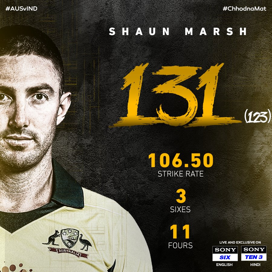 SPN- Sports's photo on shaun marsh