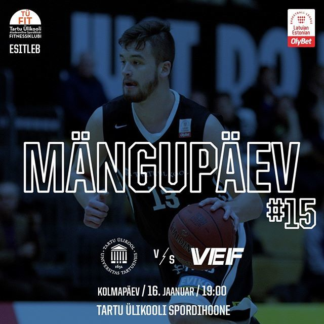 test Twitter Media - Täna võõrustame OlyBet Latvian-Estonian Basketball League raames tugevat @vefriga võistkonda. #unitartubasket #tartuülikool #basketball https://t.co/TYB9yZQBK9 https://t.co/K4odAs2WnI