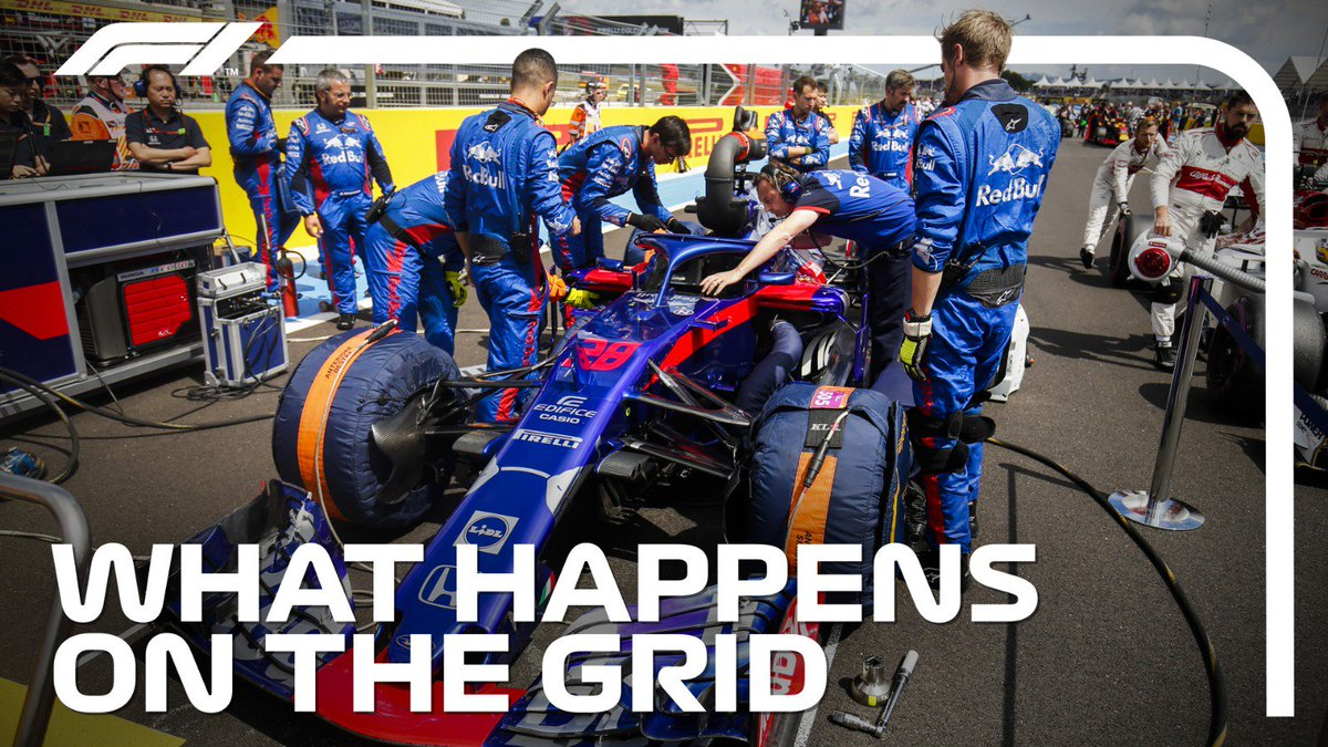 Walking the F1 grid is glamorous - but working it is seriously hard 😅  We joined Toro Rosso in Brazil to see how teams make every last second count for the race >> http://f1.com/The-Grid  #F1