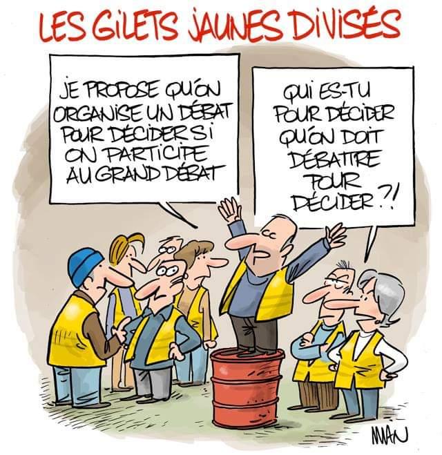 'GILETS JAUNES' Infos et commentaires, 17 janvier-15 mars 2019 DxB8Q50X0AAMmPx