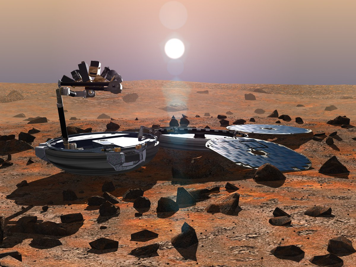 Was the British mission to Mars, #Beagle2, the first 🇪🇺spacecraft to land successfully on another planet? #Thread