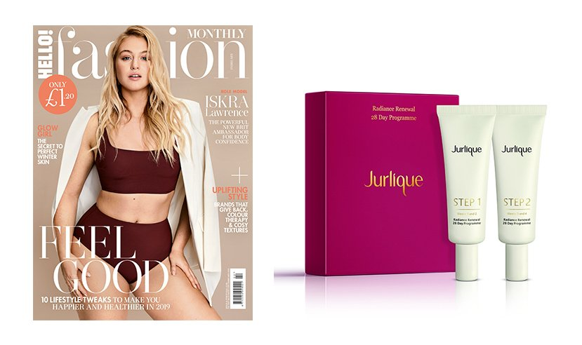 Subscribe to HFM this month and get a free gift from @JurliqueUK worth £60. Subscribe here: https://t.co/tcWcYSzf81