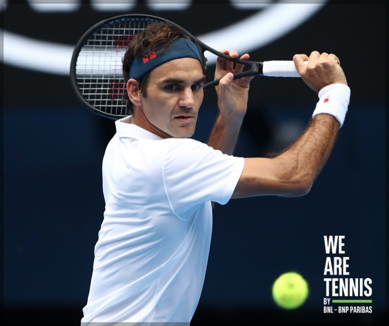We Are Tennis Italia's photo on #Federer