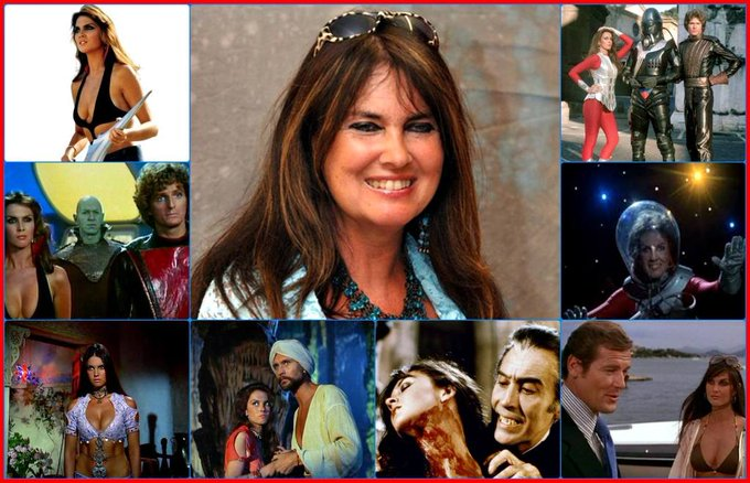 Happy birthday Caroline Munro, born January 16,1949.