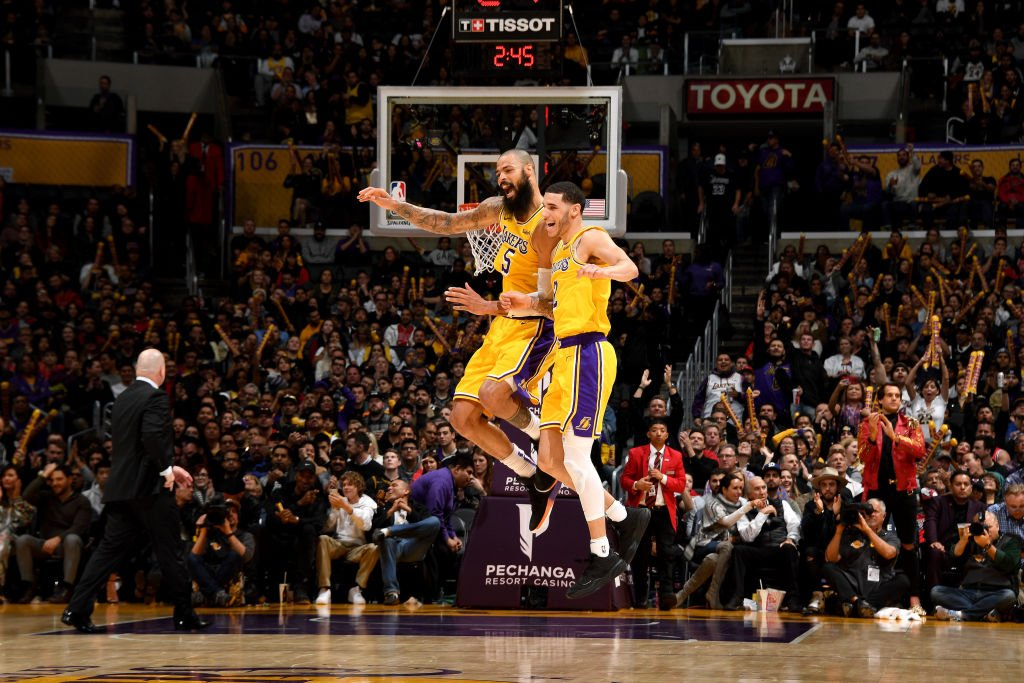 NBA France's photo on lakers