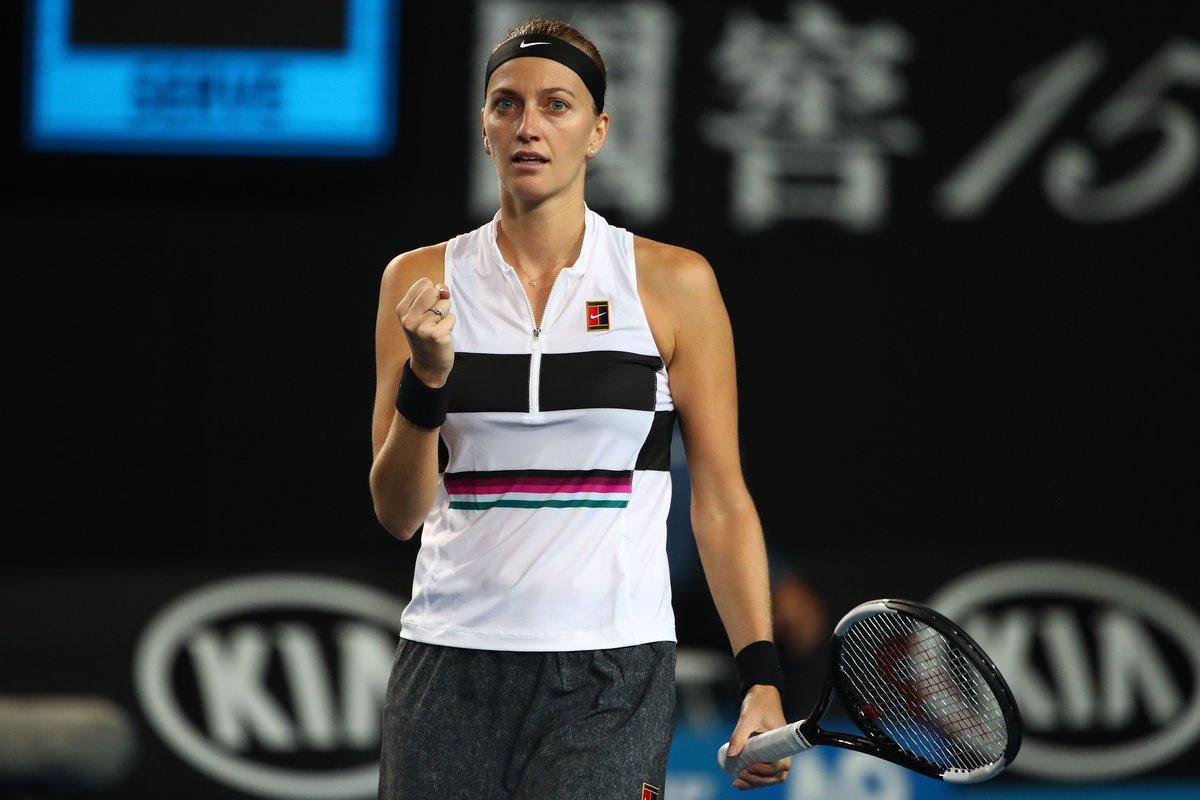 Tennis On Twitter Petra Kvitova Is Through To The Third Round Of The Ausopen The World No 6 Just Beat Irina Begu 6 1 6 3