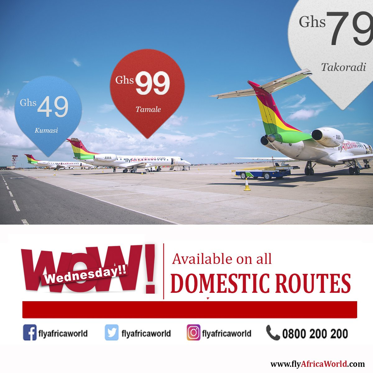 Africa World Airlines On Twitter Grab Your Future Tickets Today
