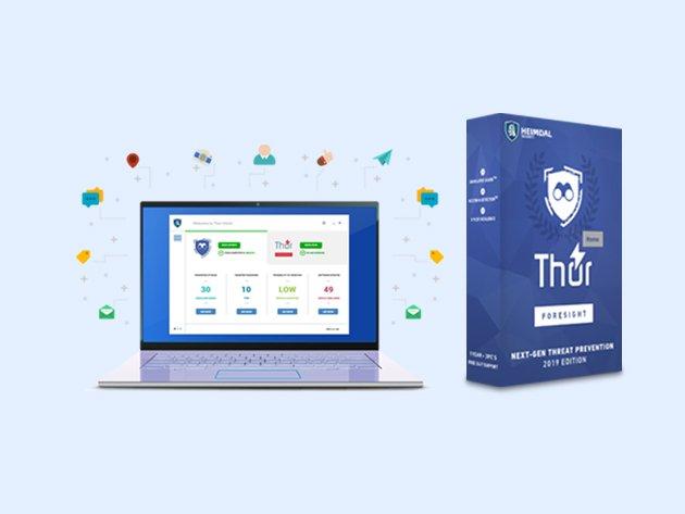 تحميل برنامج THOR FORESIGHT Home للحماية ضد الهكر الاصدار المدفوع مجانا