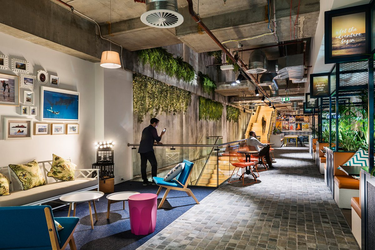 754a4bb3 What a gem this is! The Expedia offices in Sydney look exquisite in Delta  Light. Find out more about this project here: http://ow.ly/BWfV50k7MMa ...