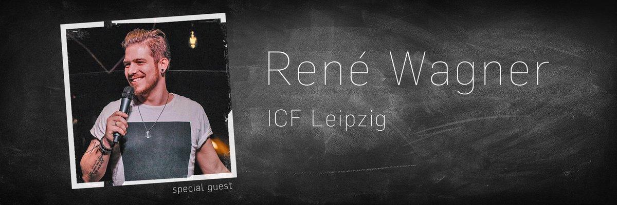 @ReneWagner z ICF Leipzig bude naším speciálním hostem v neděli 10.2.  Těšíme se! :-) pic.twitter.com/NvJ0BZYxHr
