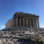 Image for the Tweet beginning: Visite d'Athènes pour la délégation