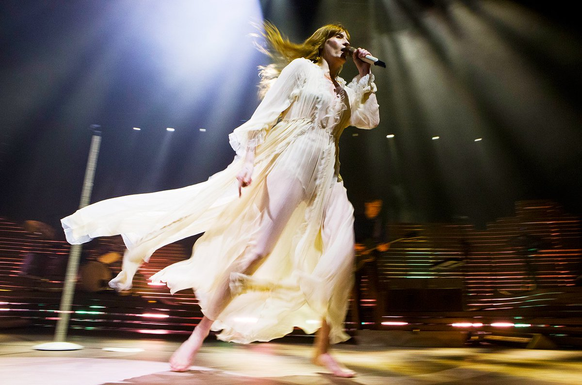 Florence + The Machine debuted a brand new song in Australia https://t.co/Lj6gEDIAk7