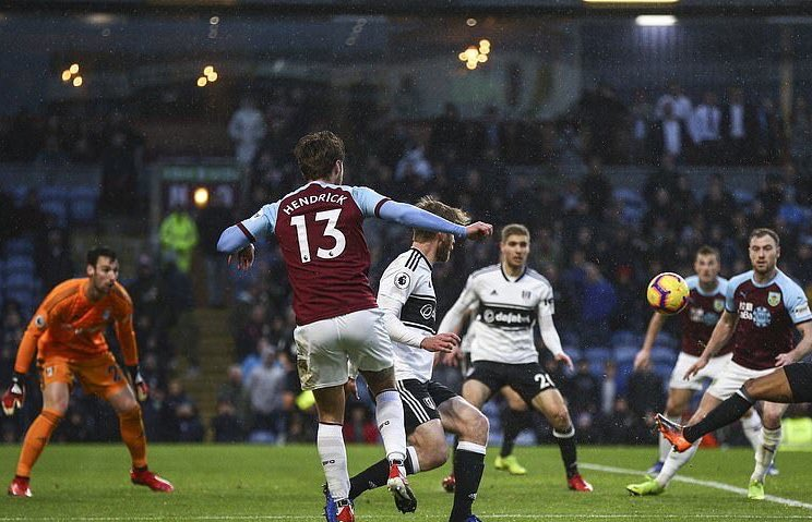 Congratulations to Jeff Hendrick, who was voted the TurfCast Man of the Match for the home win against Fulham, by our followers.    Great performance from Jeff, first of many hopefully.   #twitterclarets #UTC<br>http://pic.twitter.com/1Tui29XOic