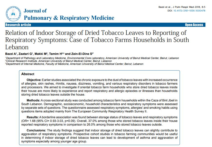 Pulmonary Medicine On Twitter Case Report On Relation Of