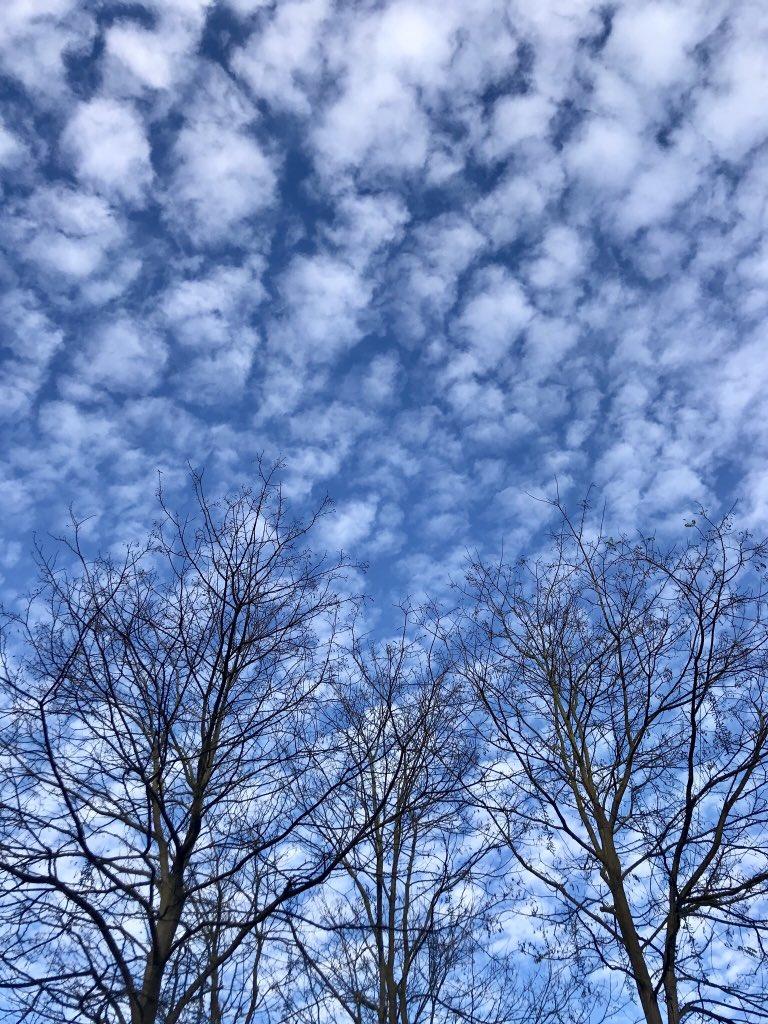 Hoje está assim ... #Oxford #skylovers