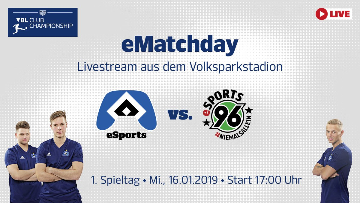 Hamburger Sv On Twitter Matchday Für Unsere Esportler Ab 17