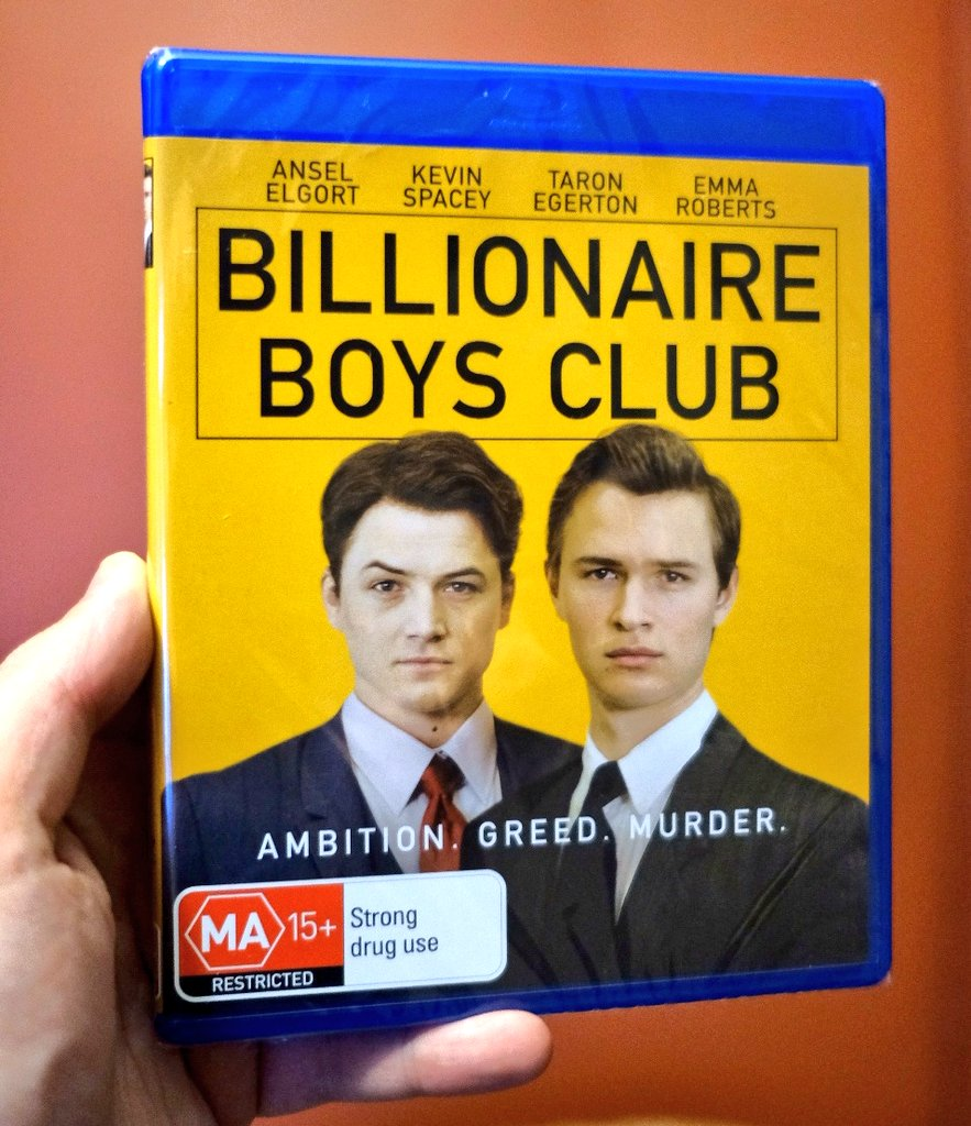 #NowWatching  Billionaire Boys Club New Arrival From My Friends At Defiant! Film #14 of 2019 #FilmTwitter #nw #Bluray<br>http://pic.twitter.com/eghJpZUSpV
