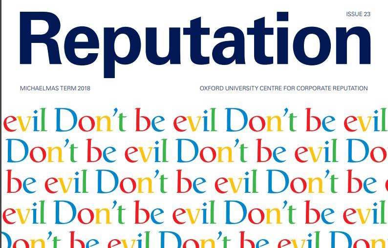 [INSIGHT]The new Reputation magazine @ReputationOxfd is out! Includes:@kuminaidoo on #Activist/ business engagement. 'Does it pay to be good?' @Hermesinvest @profmikebarnett. @felipecthomaz on #darkweb marketplaces @JustinFrake &  on @braydenkauthenticity https://t.co/UrpzZFAUgk