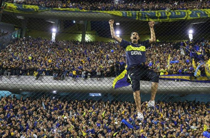 Buen día!!! Hoy juega Boca, hoy juega el único grande 💙💛💙 Foto