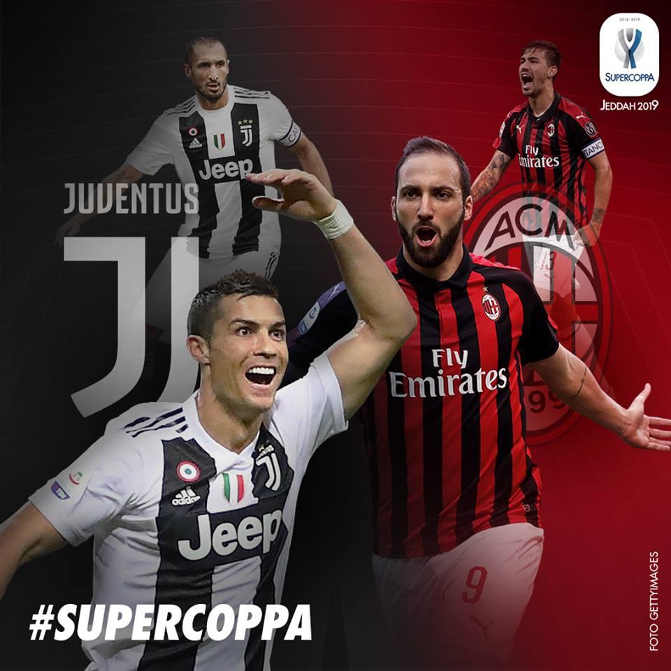 🇮🇹 #Juventus-#Milan, i #precedenti in #finale di Supercoppa #Italiana ➡️ https://bit.ly/2SXqUJg  🇬🇧 #Supercoppa: The race to eight ➡️ https://bit.ly/2McokMW  #JuveMilan #SupercoppaItaliana #Jeddah #ArabiaSaudita #SaudiArabia #SupercoppaTIM