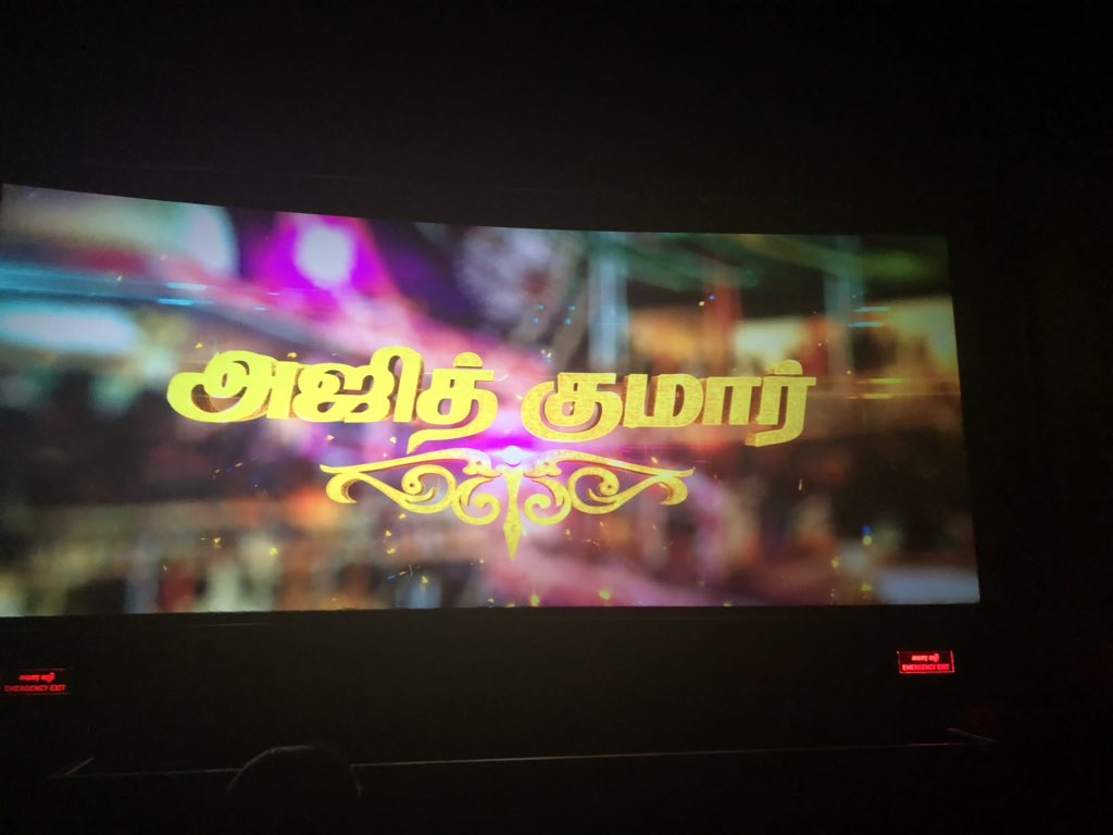 #Viswasam Holding Strong on 7th Day..!   Day by Day Shows Increasing in Theaters. Theater Owners Alloted Extra Chairs for Family Audience. Only Happen for AJITHKUMAR.  @directorsiva<br>http://pic.twitter.com/q42niOOr2T