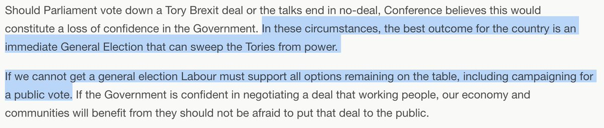 If Labour doesn't win the confidence vote - spoiler, it won't, Tory MPs are too scared Labour would win an election - it has several options: demand extension of article 50, move towards Norway Plus, or a second referendum. Its party policy allows for all options on the table.