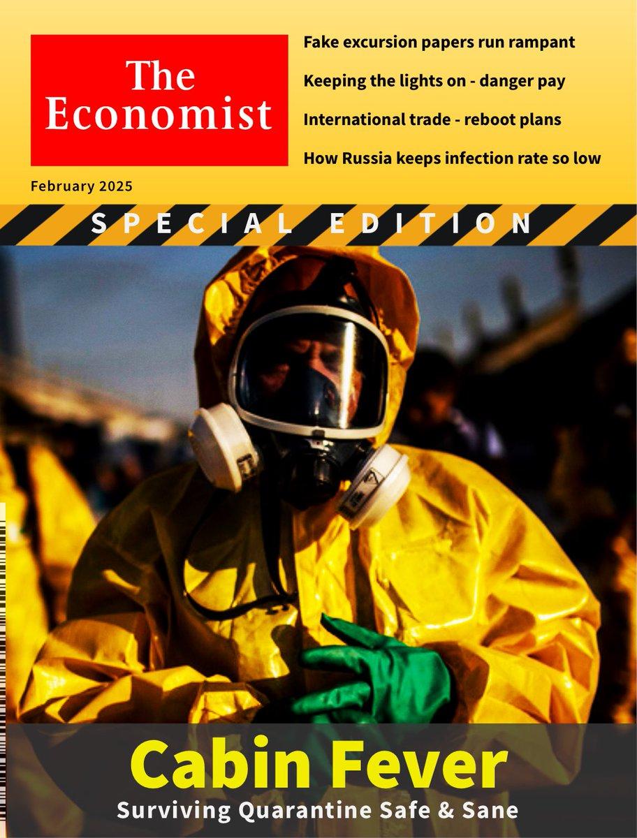 Cabin Fever @TheEconomist 2025.2 // #pandemic #h7n2 #hazmat #inflyenza // #sciencefiction #scifi