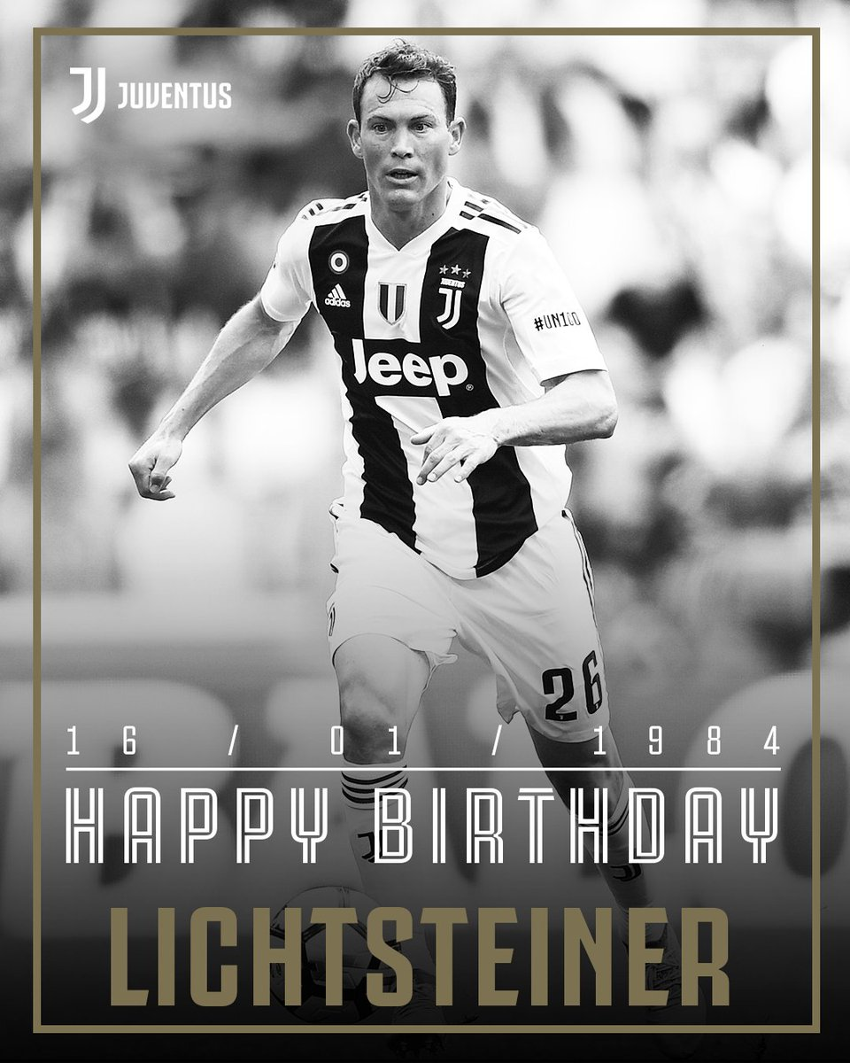 RT @juventusfcen: 🎉 Happy 35th birthday today to the 'Swiss Express', @LichtsteinerSte! 🇨🇭⚪️⚫️  #ForzaJuve https://t.co/mM6NZcUkGV