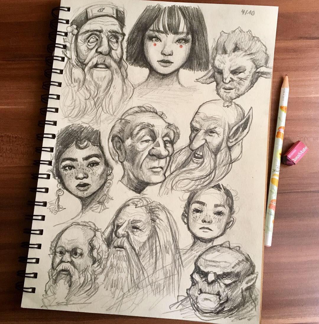 Mai's Sketchbook DxBo7IuXQAAGR5y