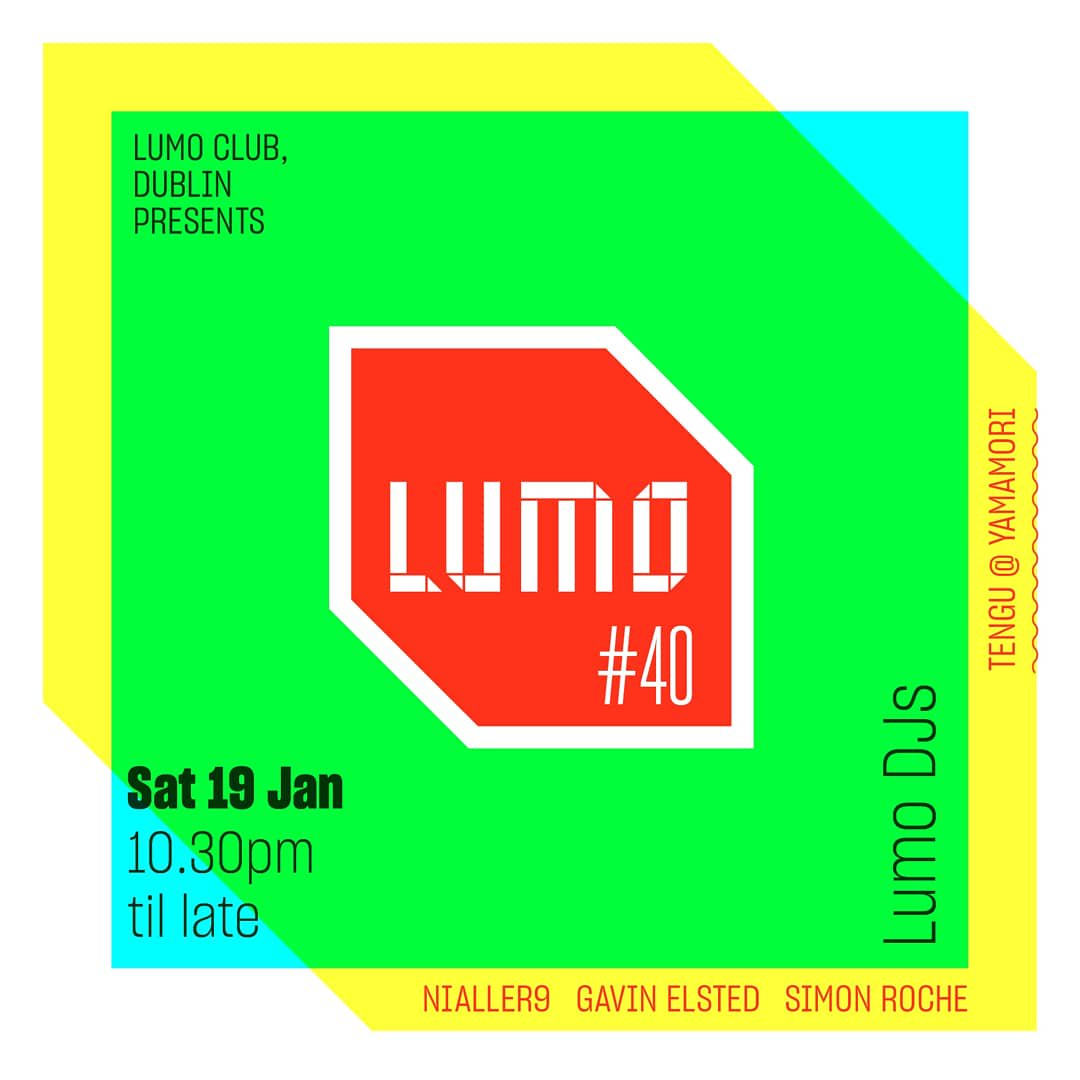 Those who think clubs are waning in Dublin should check out our thriving club night run by local DJs and attended by the nicest people in the city.   Come dancing at @LumoClub this Saturday in @YamamoriTengu for our 40th edition.  https://t.co/QrtciPXwPS