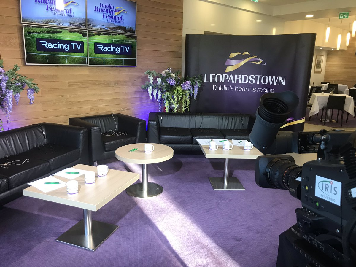 test Twitter Media - We are set and ready to go here @LeopardstownRC for our Live @RacingTV Dublin Racing Festival Launch with Gary O'Brien - tune in from 11.30am! https://t.co/c3pP7HXghJ