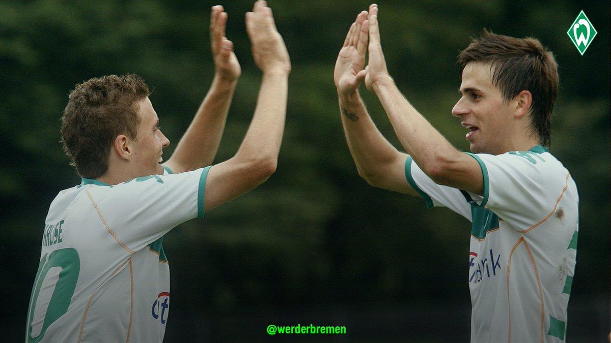 Then & now. 😍   #Werder | #10YearChallenge