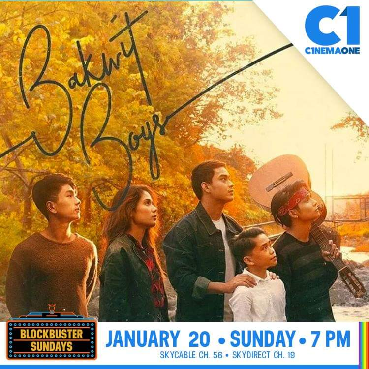 Cable premiere na ng #BAKWITBOYS sa Linggo Jan.20 sa @cinema_one channel. @vance_larena @devonseron17 @jplaxamana @prodsthatmatter