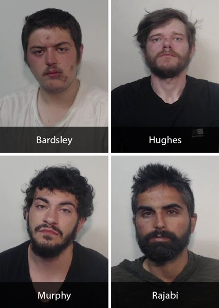 4 men jailed after #Manchester city centre robbery https://t.co/eNfNiOlxEo