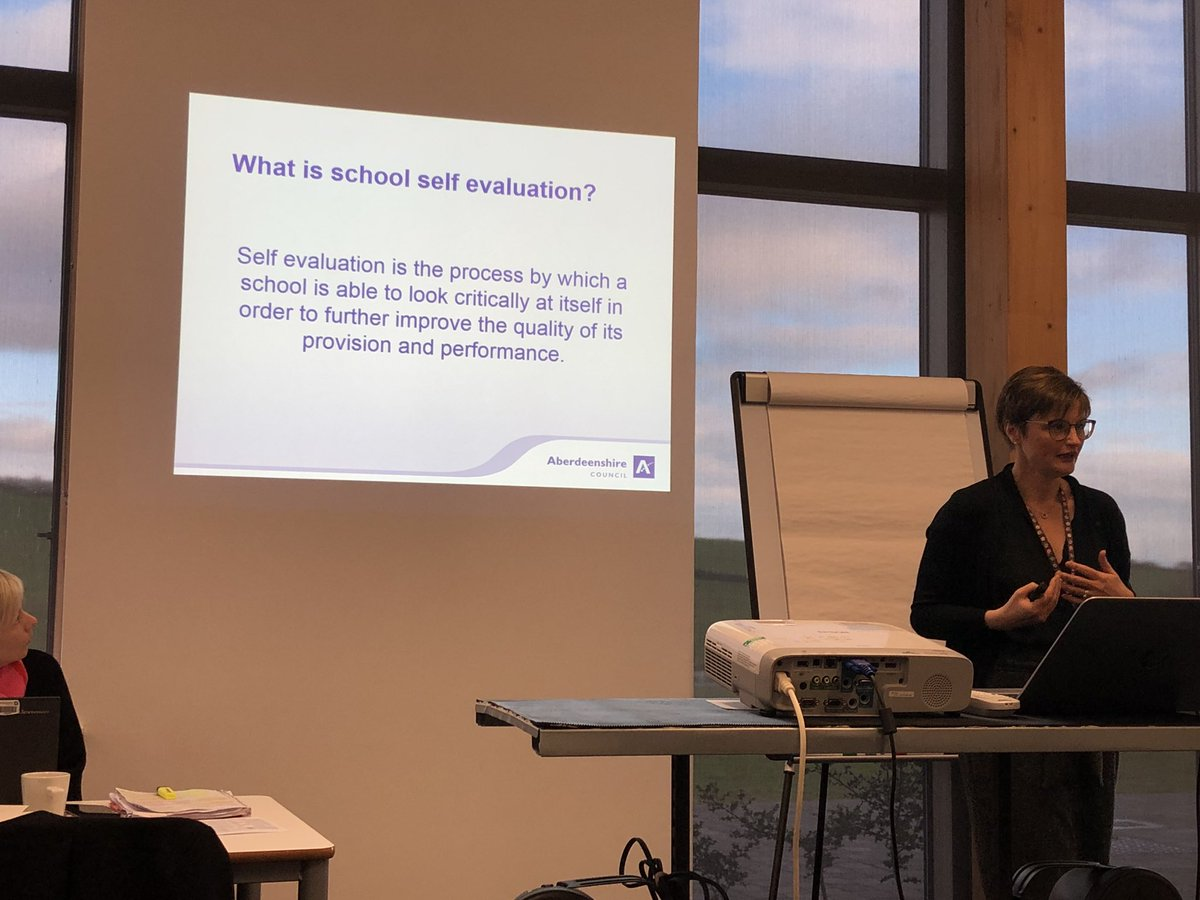 HT Induction day 4 - self evaluation. I don't think this is specifically about just schoo life....