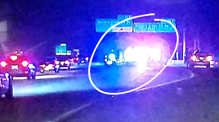 The accident is NORTHBOUND. Right turn and right thru lanes BLOCKED. Left and left center lanes remain open. #clttraffic #WCCB<br>http://pic.twitter.com/6eQ1arR008
