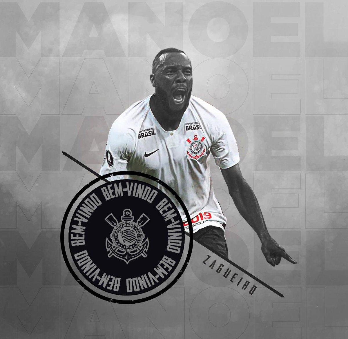 🖊 Assinou! Manoel é o novo reforço do Corinthians. O contrato do zagueiro com o Timão é válido até dezembro de 2019.  #BemVindoManoel #VaiCorinthians